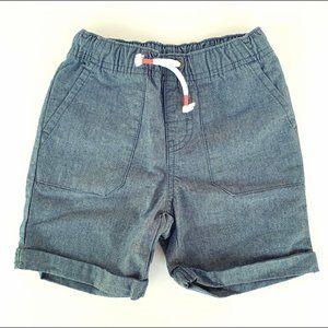 Chambray 4 Pocket Demim Shorts